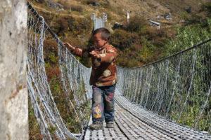Azione di solidarietà con il Nepal terremotato