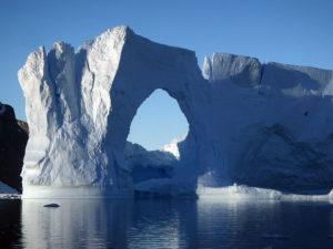 Iceberg presso il Lemaire Channel