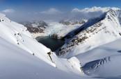 Il bel pendio verso il ghiacciaio