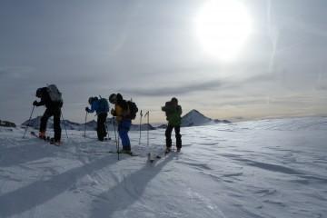 Scialpinismo in Val Senales Punta Finale