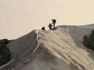 Massimo, in cima - Penisola Antartica