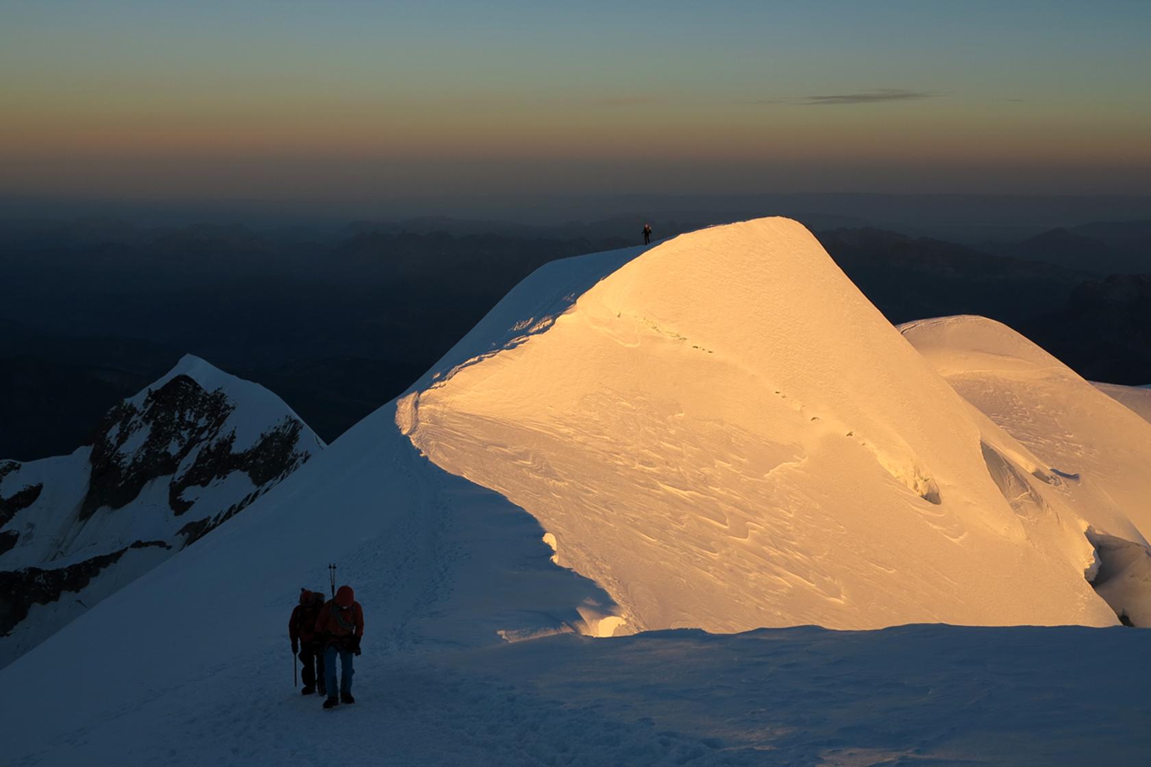 Monte Bianco quota 4810 – Via del Papa