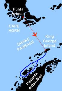 Antarctica map ActiveTravel